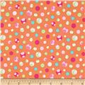 Girly-o-Saurus Dino Dots Orange