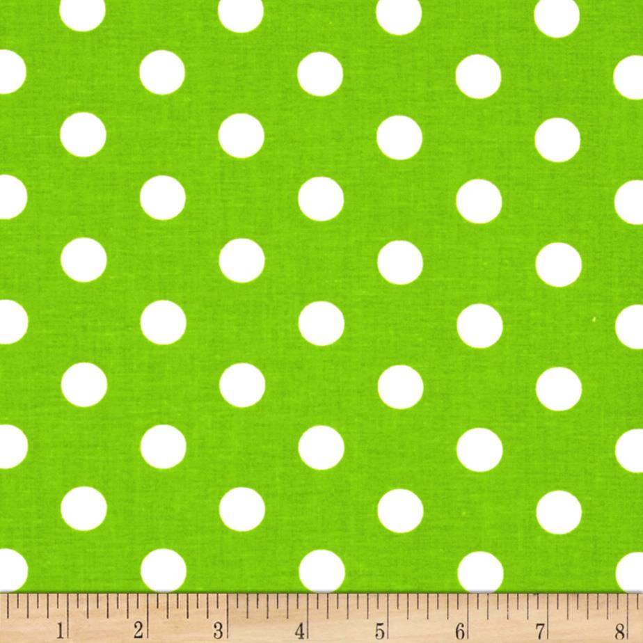 Spot On II Polka Dots Green/White