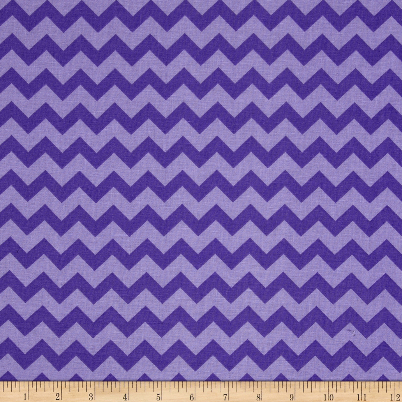 Chevron Tonal Purple/Lavender Fabric