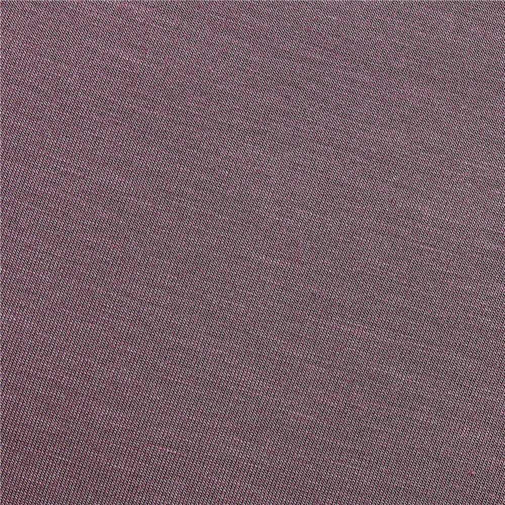 Telio Stretch Bamboo Rayon Jersey Knit Violet Fabric By The Yard