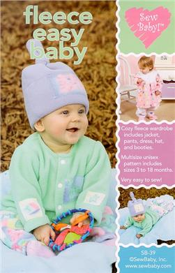 SewBaby! Fleece Easy Baby Wardrobe Pattern