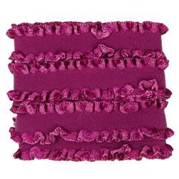 "Dritz Ruffle Elastic 5/8""X1 Yard - Purple Wine"