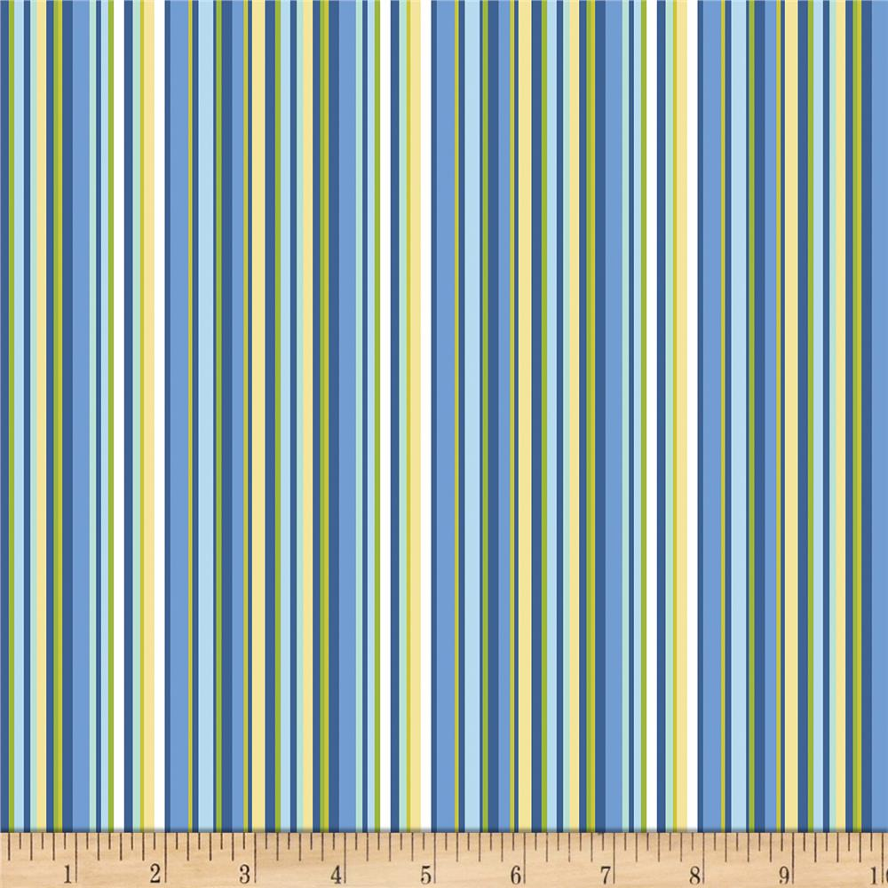 Contempo Front Porch Summer Stripe Blue Discount