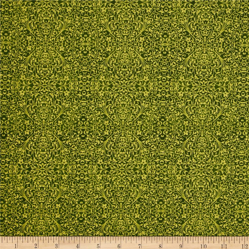 Tis The Season Mini Print Gold/Green