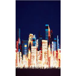 Alexander Henry Nicole's Prints Big City Blue