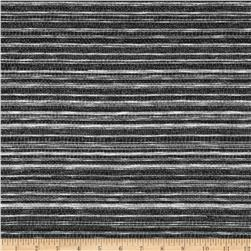 French Terry Knit Black/Gray