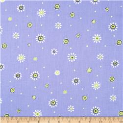Bird's House Mini Abstract Dots Periwinkle