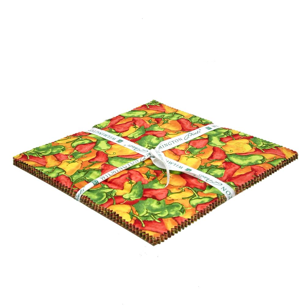 """Caliente Peppers 10"""" Squares"""