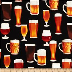 Cheers Beer Glasses Black