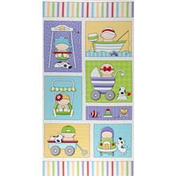 Bundle of Joy Baby Panel White