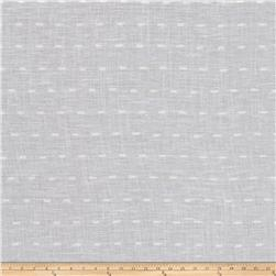 Fabricut Running Stitch Linen Blend Winter White