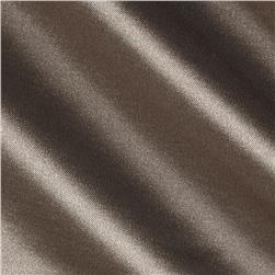 Stretch Satin Taupe Brown