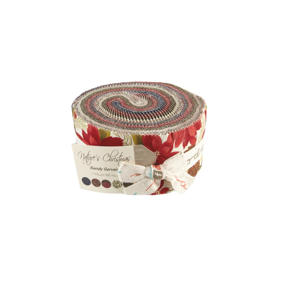 Moda Nature's Christmas 2 1/2'' Jelly Roll