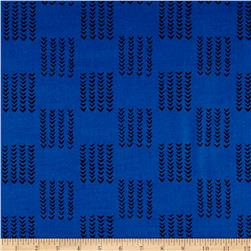 Twilight Knitted Squares Twilight Blue