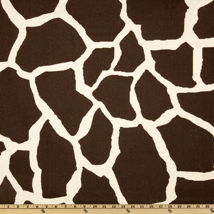 Premier Prints Giraffe Java Fabric