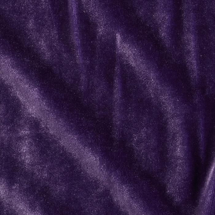 Stretch Velvet Knit Purple