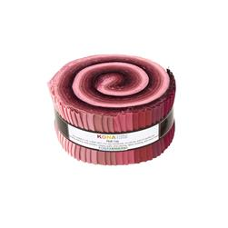 Robert Kaufman Kona Solids Powder Room 2.5 In. Jelly Roll