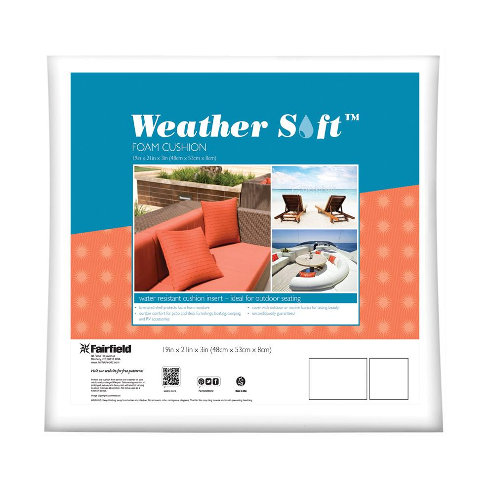 Fairfield Weather Soft Outdoor Cushion 19