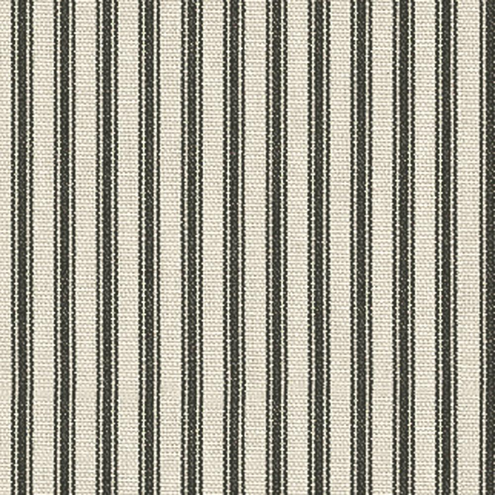 Waverly Timeless Ticking Black Discount Designer Fabric Fabriccom - Black and gold stripe drapery fabric