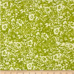 Modern Scrapbook Batik Graphic Floral Grass
