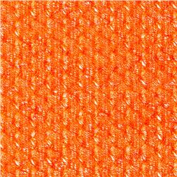 Island Open Weave Sweater Knit Orange