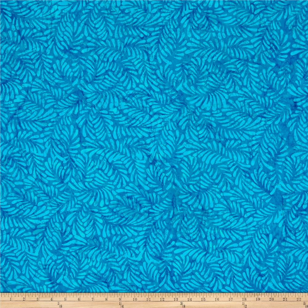 Wilmington Batiks Feathers Blue