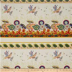 April Cornell Gypsy Dance Gypsy Border Antique