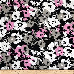 Shantung Flower Pink/Grey