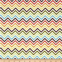 Remix Zig Zag Bermuda Multi Fabric