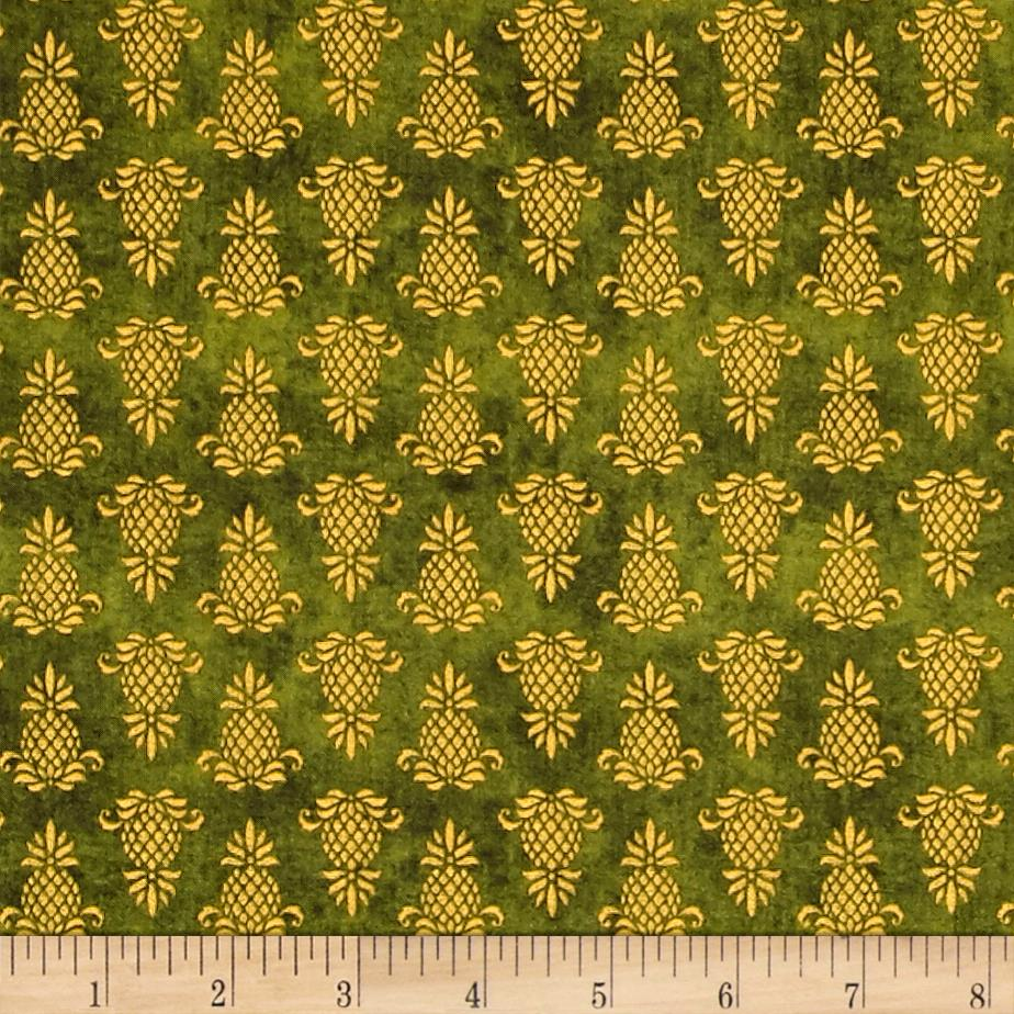The Way Home Pineapple Icon Green