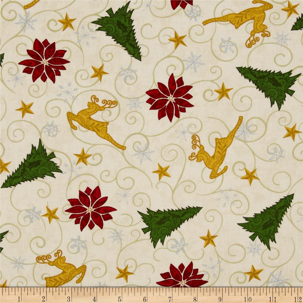 Christmas Countdown Fabric