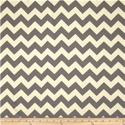 Riley Blake Home Décor Chevron Grey