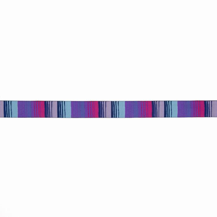 "7/8"" Kaffe Fassett Phase Stripe Ribbon Blue/Purple"