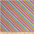 Loralie Designs Blossom Bias Stripe Purple