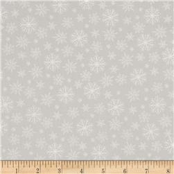 Grace Snowflakes Grey