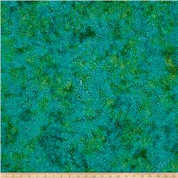 Timeless Treasures Tonga Batik Confetti Mosaic Emerald