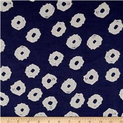 Twilight Mud Cloth Dot Indigo Blue