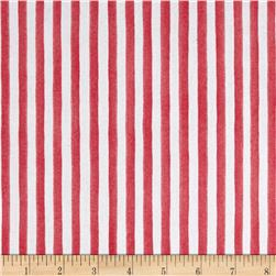 Loralie Designs Lazy Beach Gulf Stripe Pink