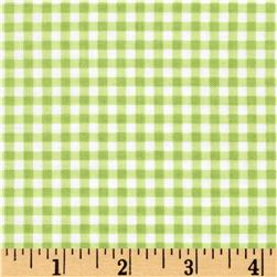 Flutter the Butterfly Gingham Check Kiwi