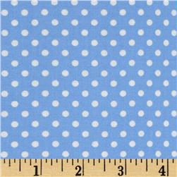Moda Dottie Small Dots Sky Blue Fabric