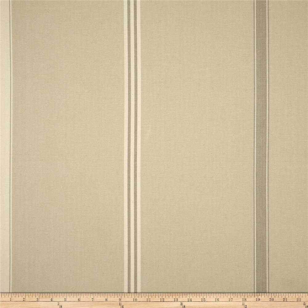 Benartex Home Corfu Stripe Khaki