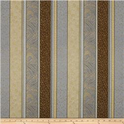 Bellissima Metallic Random Stripe Granite/Gold