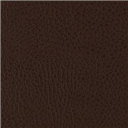 Shatto Faux Leather Sandridge Chocolate Fabric