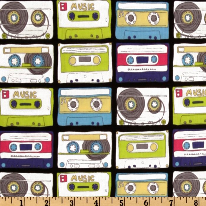 Timeless Treasures Cassette Tapes Multi