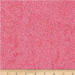 Island Batik Swirls Hot Pink