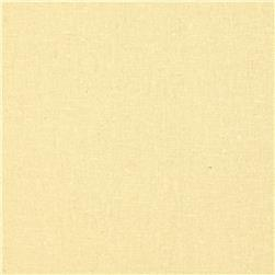 Designer Essentials Linen/Cotton Solid Vanilla