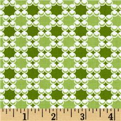 Downtown Dots & Plaids Green
