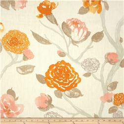 P Kaufmann Yoshino Linen Kumquat Fabric