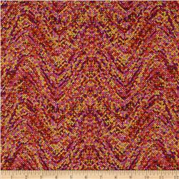 Palindromes Confetti Wave Red Fabric