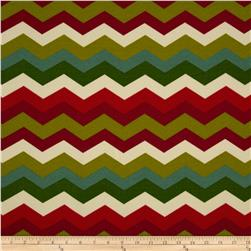 Waverly Sun N Shade Panama Wave Jewel Fabric